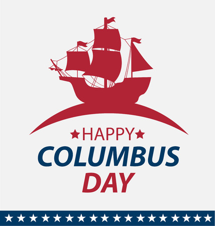 Vector illustration Columbus Day. Banque d'images - 45878154