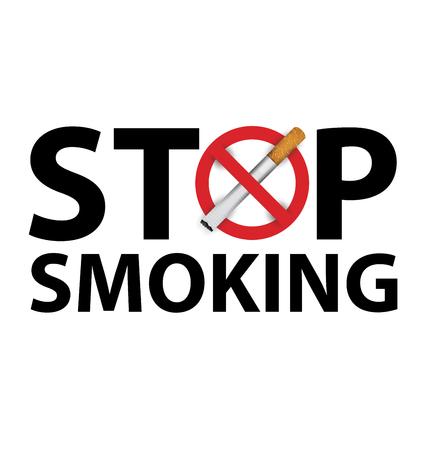 no smoking sign. vector illustration. Illustration