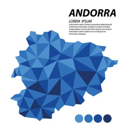 andorra: Andorra geometric concept design