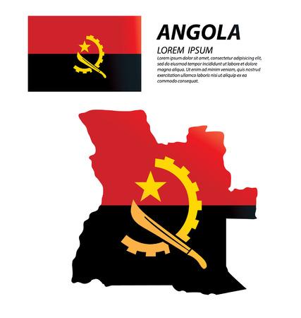 angola: Angola vector