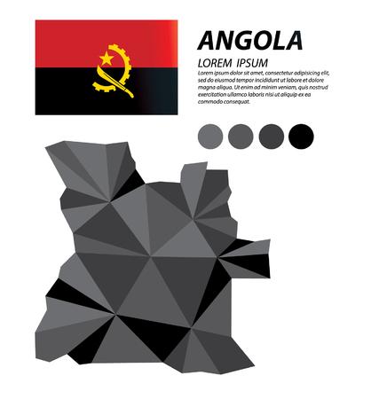 angola: Angola geometric concept design