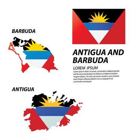 antigua: Antigua and Barbuda vector Illustration