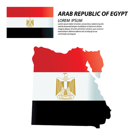 republic: Arab Republic of Egypt vector