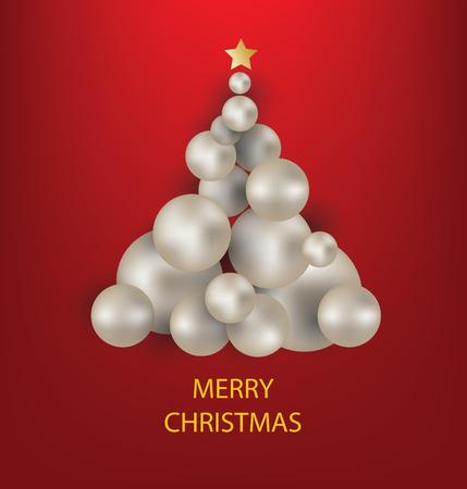christmas greeting card: Christmas Greeting Card. Vector illustration. Illustration