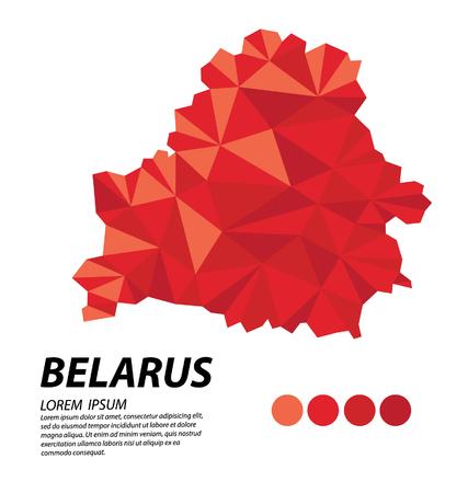 belarus: Belarus geometric concept design