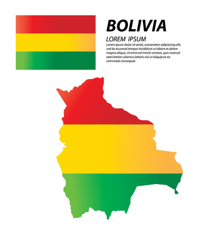 bolivia: Bolivia Illustration