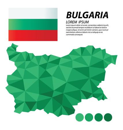 bulgaria: Bulgaria geometric concept design