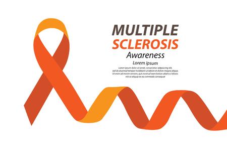 sclerosis: World Multiple Sclerosis Day. Vector illustration. Illustration
