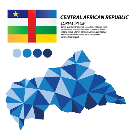 clime: Central African Republic geometric concept design