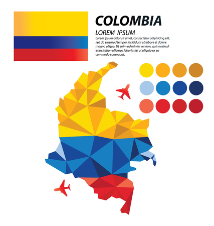 colombia: Colombia geometric concept design