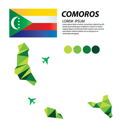 Comoros geometric concept design