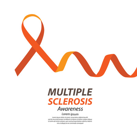 World Multiple Sclerosis Day. Vector illustration. Illustration