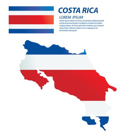 clime: Costa Rica vector