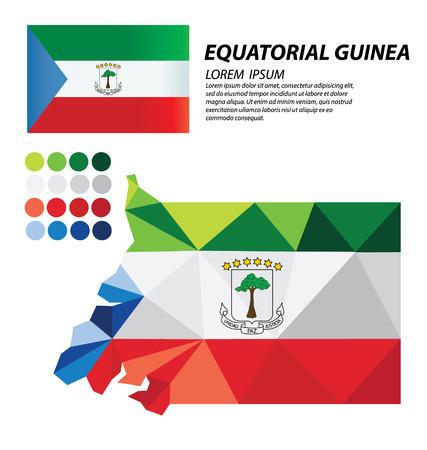 Equatorial Guinea geometric concept design
