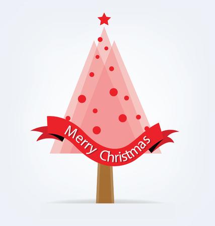 christmas tree illustration: Christmas tree. Vector illustration.