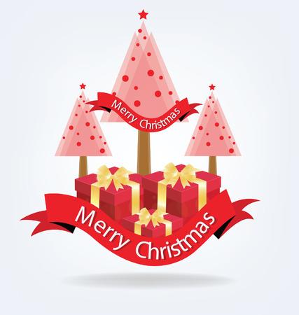 christmas tree illustration: Christmas tree. vector illustration. Illustration