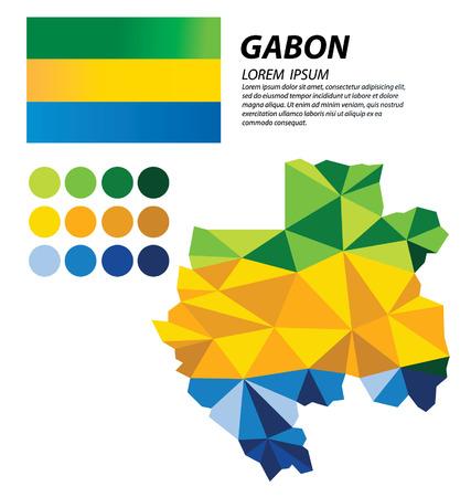 clime: Gabon geometric concept design