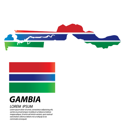 clime: Gambia vector