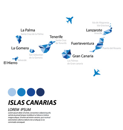 canarias: lslas Canarias geometric concept design