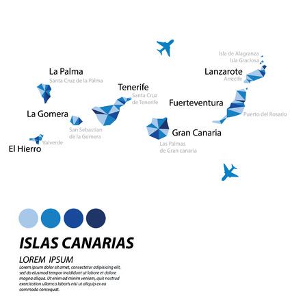 lslas Canarias geometryczny projekt koncepcyjny