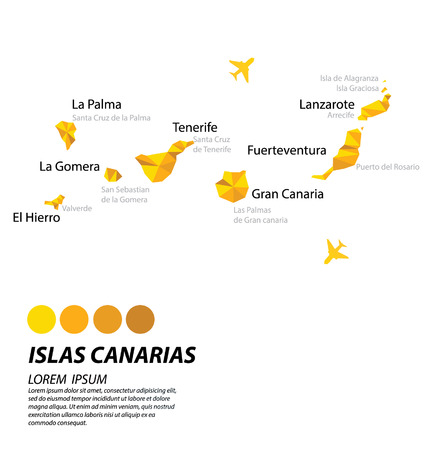 lslas Canarias geometric concept design