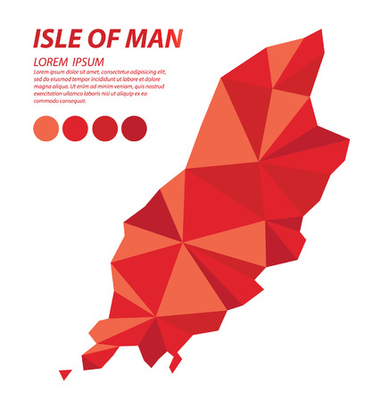 Isle of Man geometric concept design