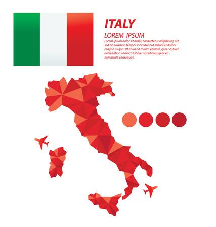 Italian Republic geometric concept design