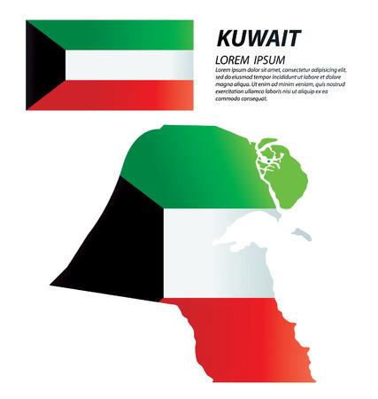 kuwait: Kuwait vector