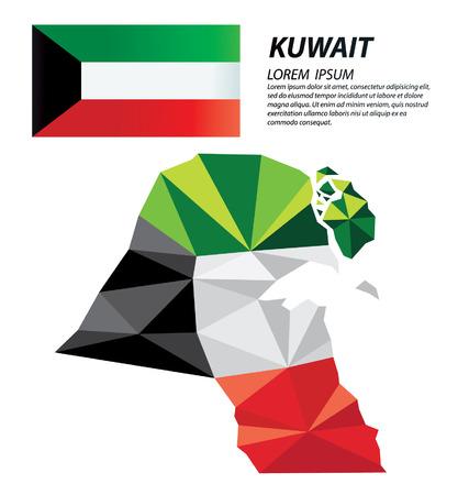 concept design géométrique Koweït Vecteurs