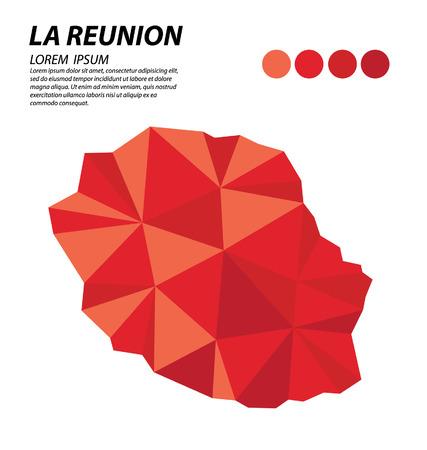reunion: La Reunion geometric concept design