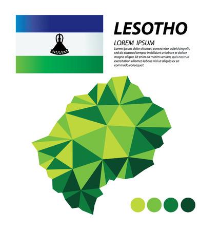 Lesotho geometric concept design