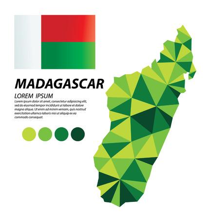 madagascar: Madagascar geometric concept design