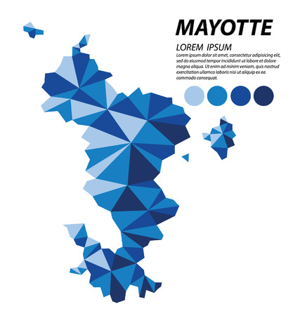 mayotte: Mayotte geometric concept design