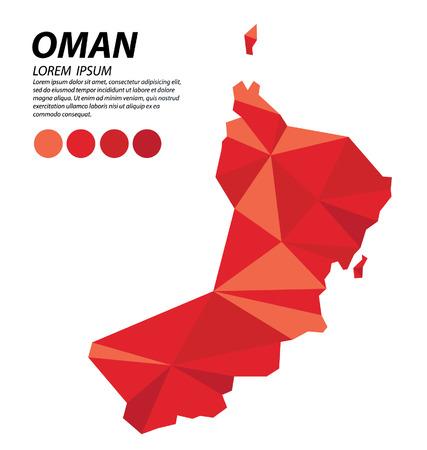 Sultanate of Oman geometric concept design