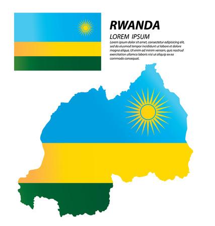 Republic of Rwanda map