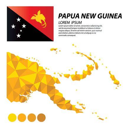 Papua New Guinea geometric concept design