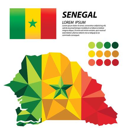 Senegal geometric concept design