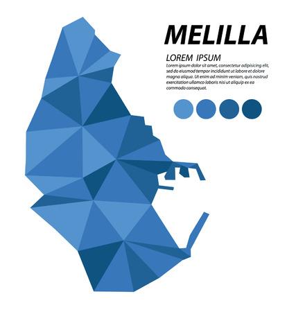 Melilla geometric concept design