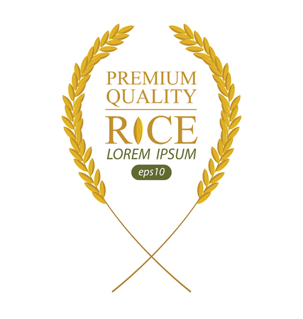 Rice. Vector illustration. 向量圖像