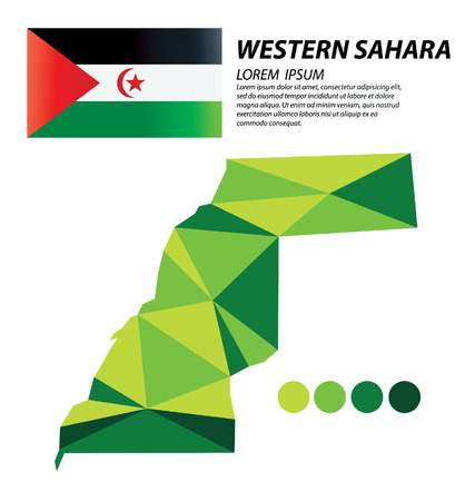 Western Sahara geometric concept design