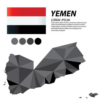 Republic of Yemen geometric concept design