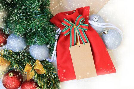 Christmas background with ornament Фото со стока