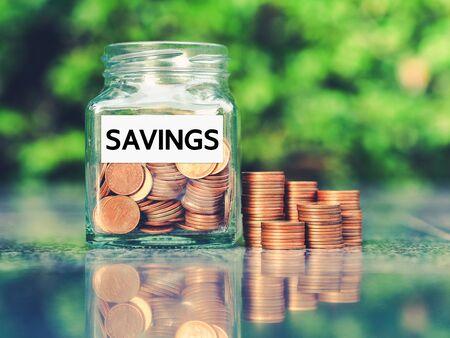 Économiser de l'argent pour préparer l'avenir. Concept de croissance de l'argent.