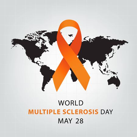 Multiple Sclerosis Day. Healthcare and medicine concept. Vector illustration.