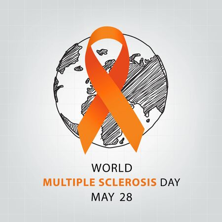 World Multiple Sclerosis Day. Vector illustration.