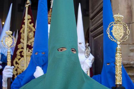 Processie tijdens de Semana Santa in Spain(this is the Holy week before Easter)