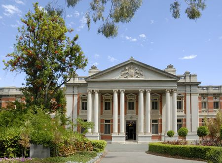 constitutional: Building of the Supreme Court of Western Australia Stock Photo
