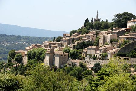 vaucluse: The beautifull village of Bonnieux in the Vaucluse, France