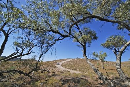 4 wheel: 4 ruedas motrices explorar el Parque Nacional de Flinders en Australia