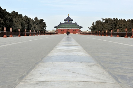 Danbi bridge in the Temple of Heaven in Beijing, China photo